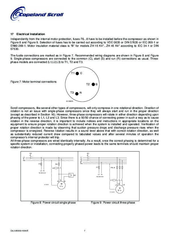 Copeland Compressor Wiring Diagram Single Phase : copeland, compressor, wiring, diagram, single, phase, Copeland, Compressor, Wiring, Diagram, Single, Phase, Drivenhelios