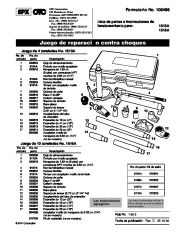 SPX OTC 1513A 1515A Collision Repair Set Owners Manual