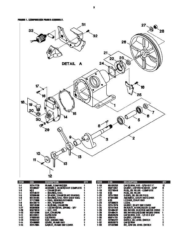 champion air compressor diagram desert hawk ingersoll rand 2475 parts list