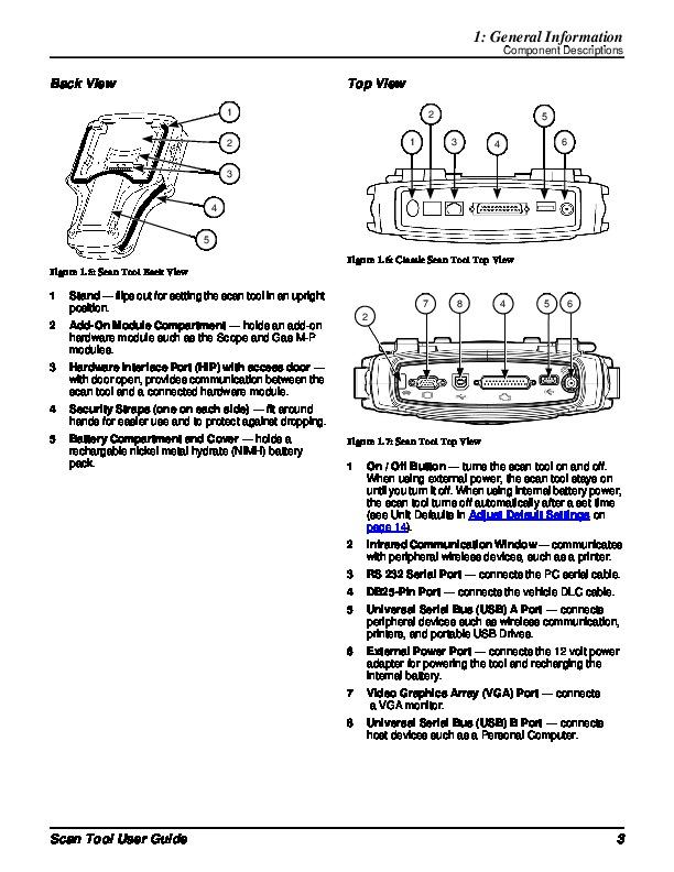 Robinair SPX Genisys EVOTM Scan Tool User Guide