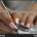 Don't forget to love yourself Quote by Soren Kierkegaard