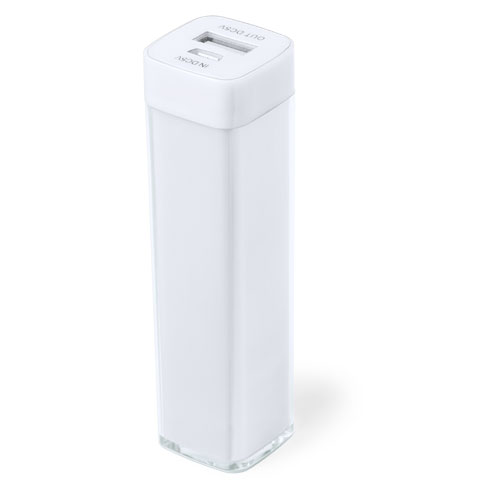 Power Bank Sirouk-blanc-2000-mAh