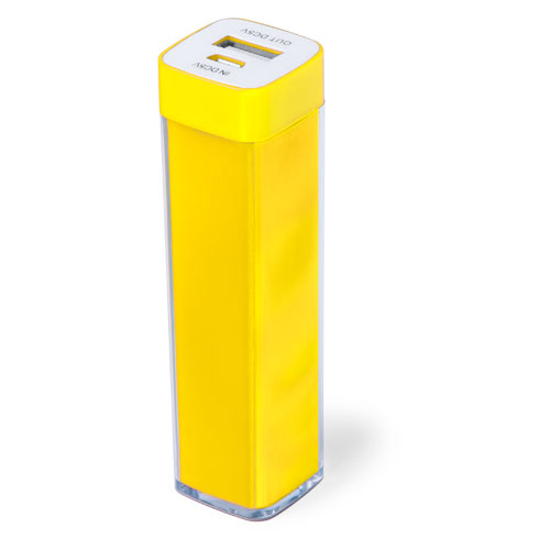 Power Bank Sirouk-jaune-2000-mAh
