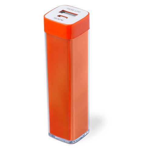Power Bank Sirouk-orange-2000-mAh
