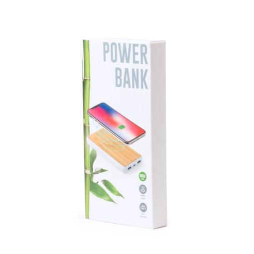 Batterie externe en bambou Dickens