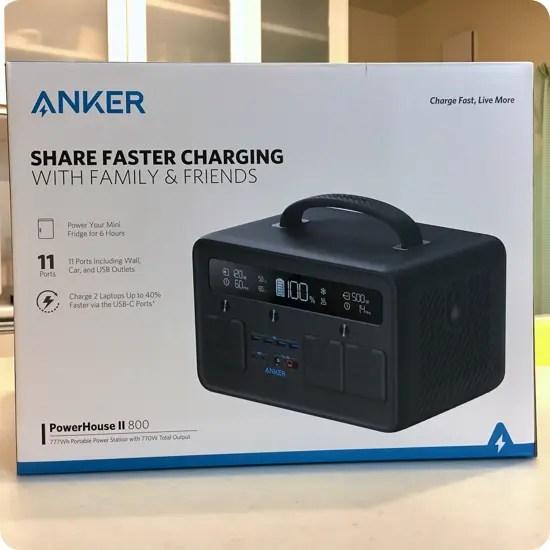 Anker PowerHouse II 800をセールで購入!実機レビューとQ&A