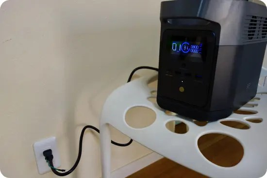 EcoFlow DELTA miniの充電スピード
