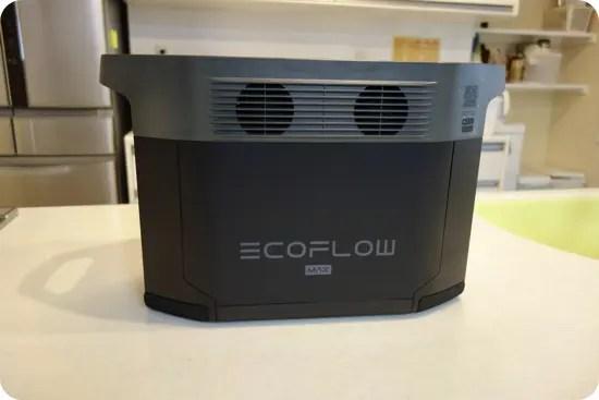 EcoFlow DELTA Max外観と付属品・説明書