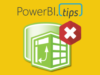 Power Query Icon with Red X