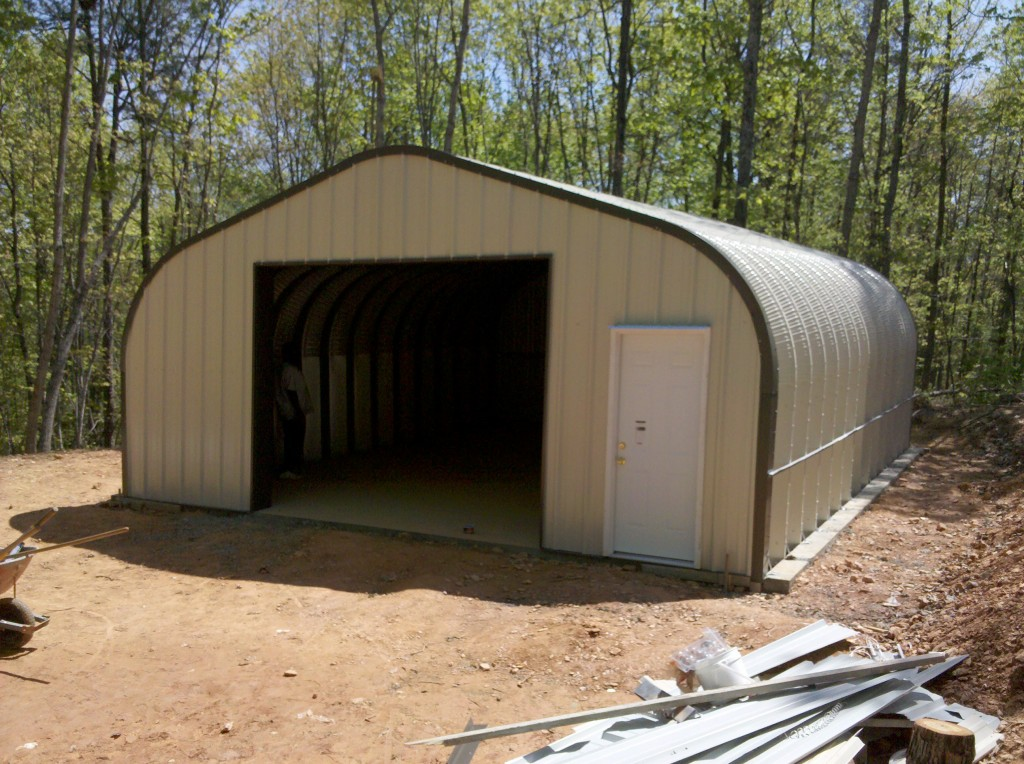 PModel Quonset Style Building  Powerbilt Steel Buildings