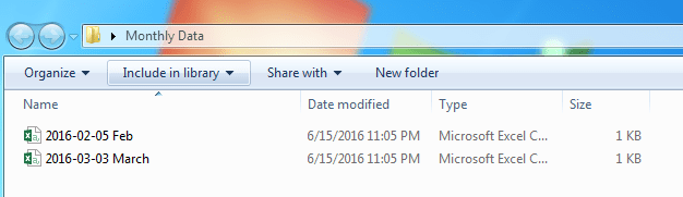 Two Files Left