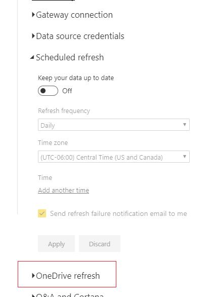 OneDrive Refresh