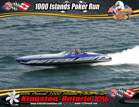 Freeze Frame Photos  1000 Islands Poker Run  Powerboat