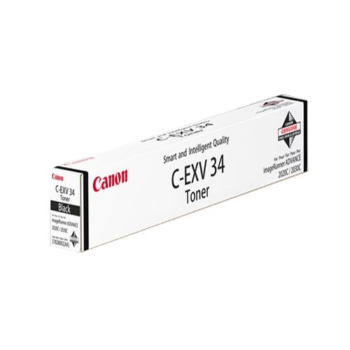 Canon CEXV34 Laser Toner Cartridge Page Life 23000pp Black