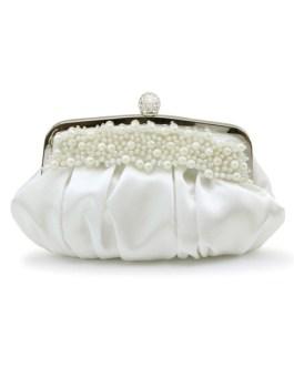 Formal Handmade Pearls Beading Women's Evening Bag