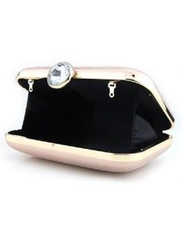 Wedding Bridal PU Rhinestones Evening Clutch Handbags