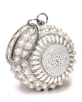 Women Beaded Clutch Design Diamonds Evening Bags With Shoulder Bags