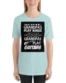 Cool Grandpas play guitart Short Sleeve T-Shirt