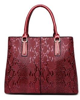 Elegant Glossy Patent Leather Handbag Shoulder Bag Crossbody Bag For Women