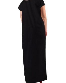 Casual Print Leaves Short Sleeve Maxi Dress