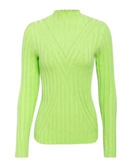 Elegant Slim Fit Turtleneck Elastic Knitted Pullover Sweater