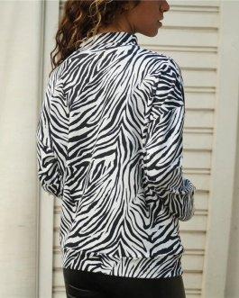 Striped T Shirt Casual Long Sleeve T-Shirt