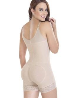 Waist Shaper Underbust Sleeveless Ruffled Shaping Bodysuit