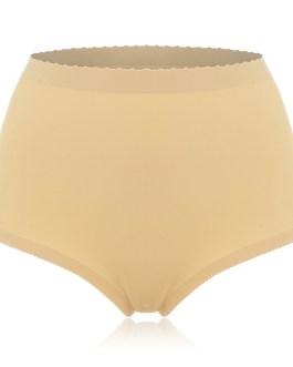 Mid Waist Padded Bottoms Shaping Panties