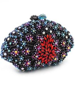 Elegant Beads Handmade Clutch