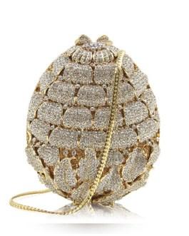 Handmade Diamond Fashion Clutch