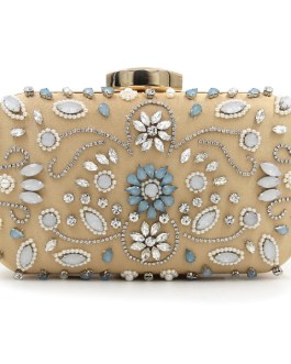 Vintage Pearl Beaded Clutches