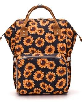 Large Storage Travel Waterproof Stroller Printed Backpack