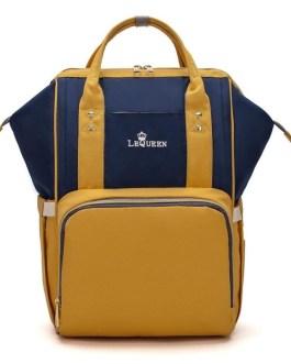 Large Storage Travel Waterproof Stroller Solid Backpack