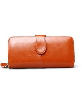 Card Holder Solid Clutch Carteira Long Wallet