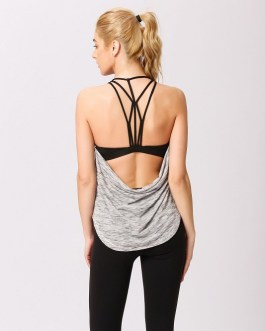 Sexy Backless Yoga Workout Tank Tops