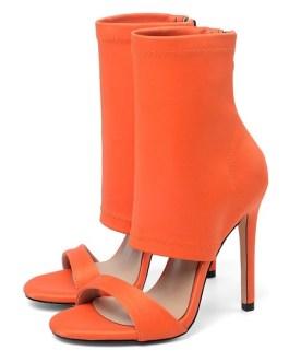 Sandals Open Toe Stiletto Heel Booties