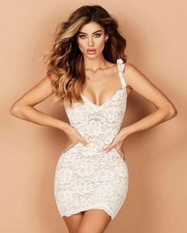 Sexy Sleeveless Mini Bodycon Dress
