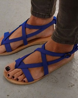 Strappy Sandals – Sturdy Rounded Soles