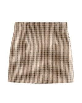 High Waist Stylish Back Pleated Skirts