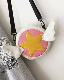 Sweet Lolita Bag Cardcaptor Sakura Canvas Cross Body Bag