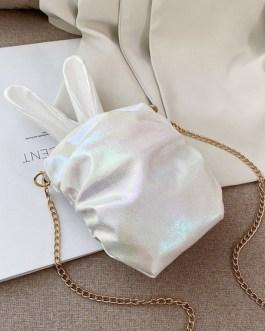 Sweet Lolita Handbag Bunny Ear PU Leather Cross Body Bag