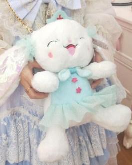 Sweet Lolita Short Plush Bunny Cross Body Bag