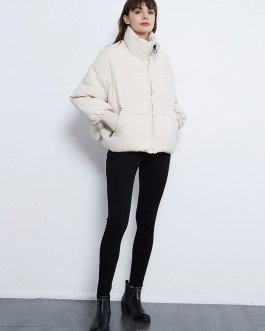 Thick Warm Parkas Casual Down Jacket With Pockets