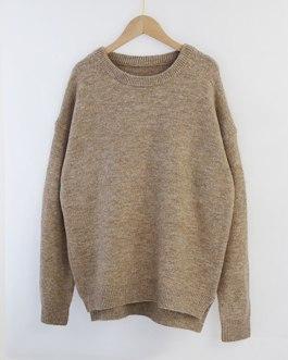 Batwing Long Sleeve Loose Soft Wool Sweaters