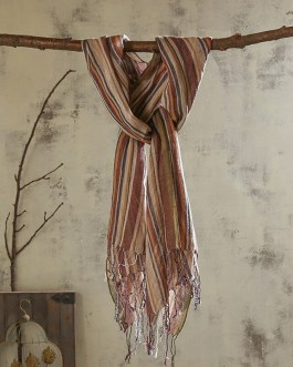 Casual Solid Color Thin Cotton Linen Outdoor Scarves
