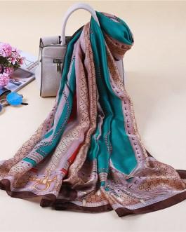 Fashion High Quality Print Silk Scarf