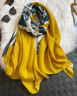 Fashion Printed Warm Cotton Scarf