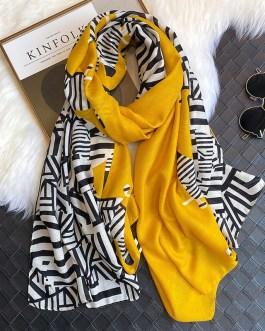 Fashion Zebra Print Scarf
