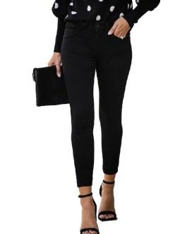 Casual Zipper Slim Long Denim Jeans