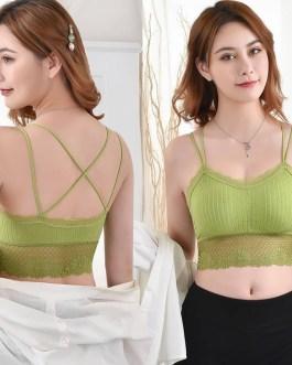 Fashion Sexy Lace Wireless Padded Push-up Bra